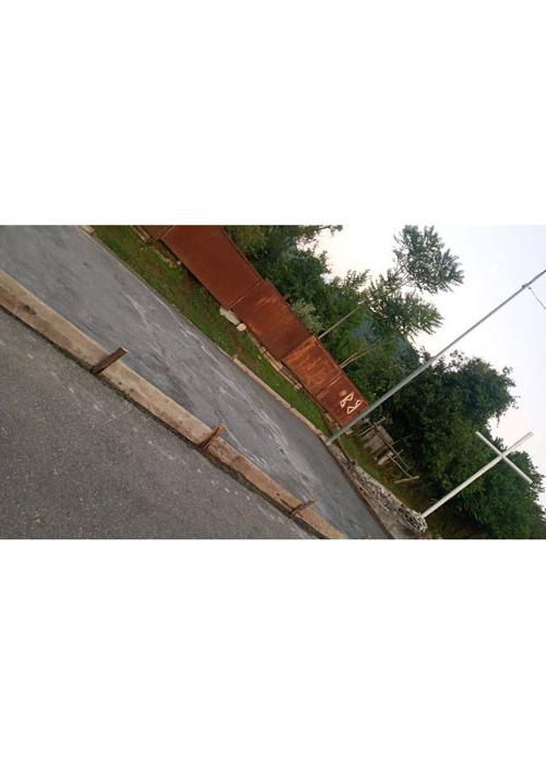სოფელში სადაც საზოგადოებრივი ტრანსპორტი არ მოძრაობს მოსაცდელი შენდება